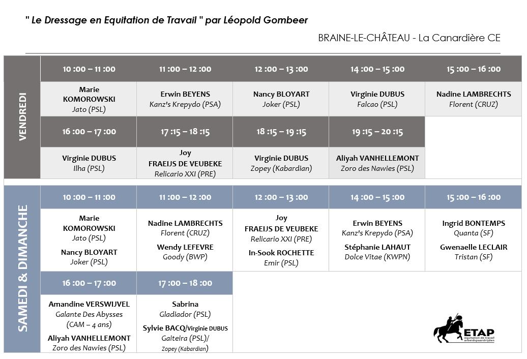 Horaires-provisoires-Stage-Leopold-Gombeer-23-24-25-oct.